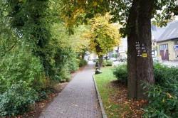 Wegemarkierungen in der Dammstraße