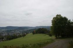 Der Hilchenbacher Höhenring oberhalb des Kirchbergs