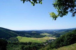 Panoramablick auf Oberndorf und Helberhausen