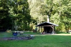 Die Grillhütte auf der Wigrow