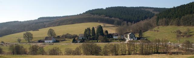 Blick von Varste zum Kuhlenberg