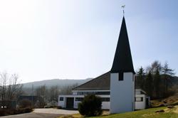 Die St.-Antoniuskirche in Silberg