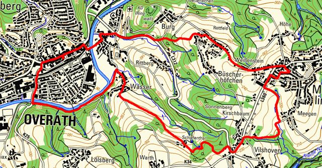 Route des Overather Pilgerwegs