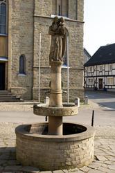 Brunnen an der Pilgerstraße in Marialinden