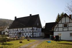 Typisches Siegerländer Fachwerkhaus in Oechelhausen