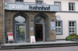 Der Kulturbahnhof ist Ausgangspunkt des Zugangs zum Rothaarsteig