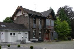 Der alte Bahnhof Zollposten in Vormwald