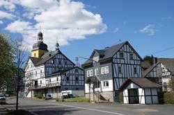 Ortskern von Friesenhagen