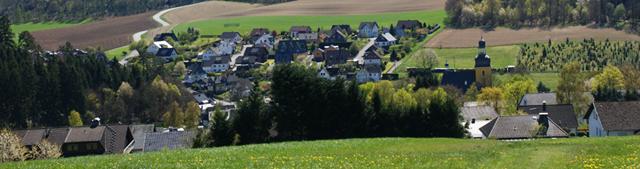 Blick vom Blumenberg auf Friesenhagen