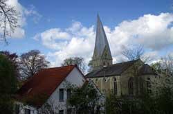 Alt St. Thomae vom Wall aus gesehen