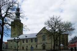 Die evangelische Petrikirche in Soest