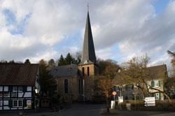 Die evangelische Kirche Volberg in Hoffnungsthal