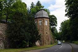 Turm der Schloßanlage Allner