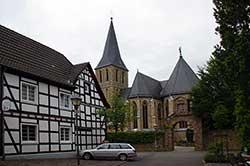 """Wallfahrtskirche """"Zur schmerzhaften Mutter Gottes"""" in Bödingen"""
