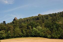 Blick zurück auf die Bruchhauser Steine