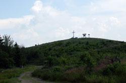 Der Clemensberg bei Hildfeld ist 839,2 m hoch