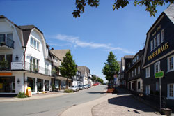 Die alte Heerstraße zwischen Frankfurt und Soest verlief durch die Ortsmitte von Winterberg