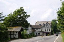 Die ehemalige Zoll- und Poststation in Hoheleye