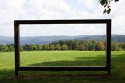 """Das """"Landschaftsfenster"""" auf dem Heidkopf in Jagdhaus"""