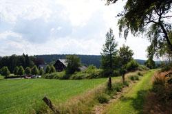 """Der Rothaarkamm zweischen Heidkopf und """"Schäferhof"""""""