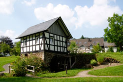 Ehemalige Mühle Hof Halberstadt mit Waldarbeitermuseum in Latrop