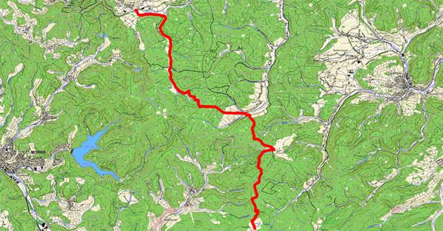 Etappe Lützel-Lahnhof
