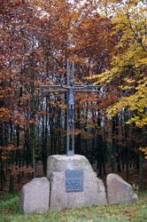 """""""Kreuz der Wanderer"""" vom heimischen Künstler Pater Leo Jahn"""