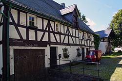 """Fachwerkhaus """"Im stillen Winkel"""" in Lützel"""
