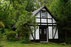 Die ehemalige Schule für die Kinder aus Sohl und Heiligenborn