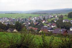 Blick auf Wilgersdorf
