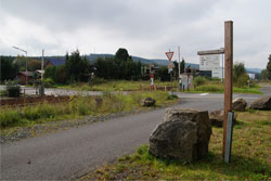 Bahnübergang in Würgendorf