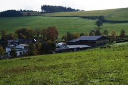 Blick vom Soester Totenweg auf Ebbinghof