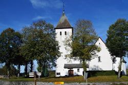 Katholische Pfarrkirche St. Cyriakus in Berghausen
