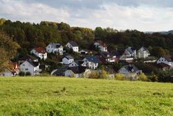 Blick vom Rothaarsteig nach rechts auf Donsbach