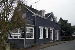 Die Fuhrmannskneipe mit dem Haus der Geschichten in Müllenbach