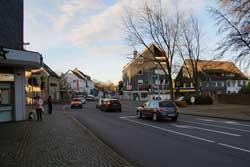 Kreuzung historischer Fernhandelswege in Marienheide