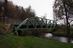 Brücke des Bahntrassenradwegs über die Wupper in Wipperfürth