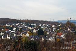 Blick vom Mühlberg auf Fellinghausen