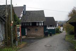 Der Fachwerkweg im Ortsteil Velken
