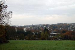 Blick vom Waldrand nahe dem Ortsteil Stein auf Ruppichteroth