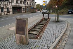 Erinnerung an die alte Bröltalbahn