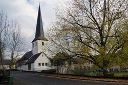 Die evangelische Dorfkirche in Ruppichteroth