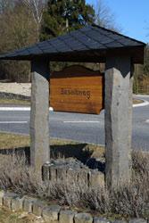 Hinweis Basaltweg