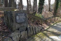 Reste der karolingischen Wallanlage in Asbach