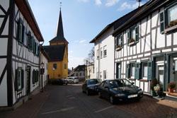 Fachwerkhäuser in Asbach