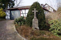 Wegkreuz an der Mendter Straße im Ortsteil Oberscheid