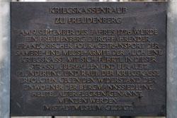 Kriegskassenraub zu Freudenberg