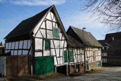 Haus in der Kölner Straße in Sparfachwerkbauweise