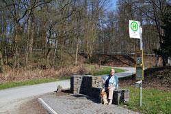 Start im Reisegarten Eifgen