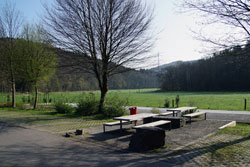 Ziel im Reisegarten Schöllerhof